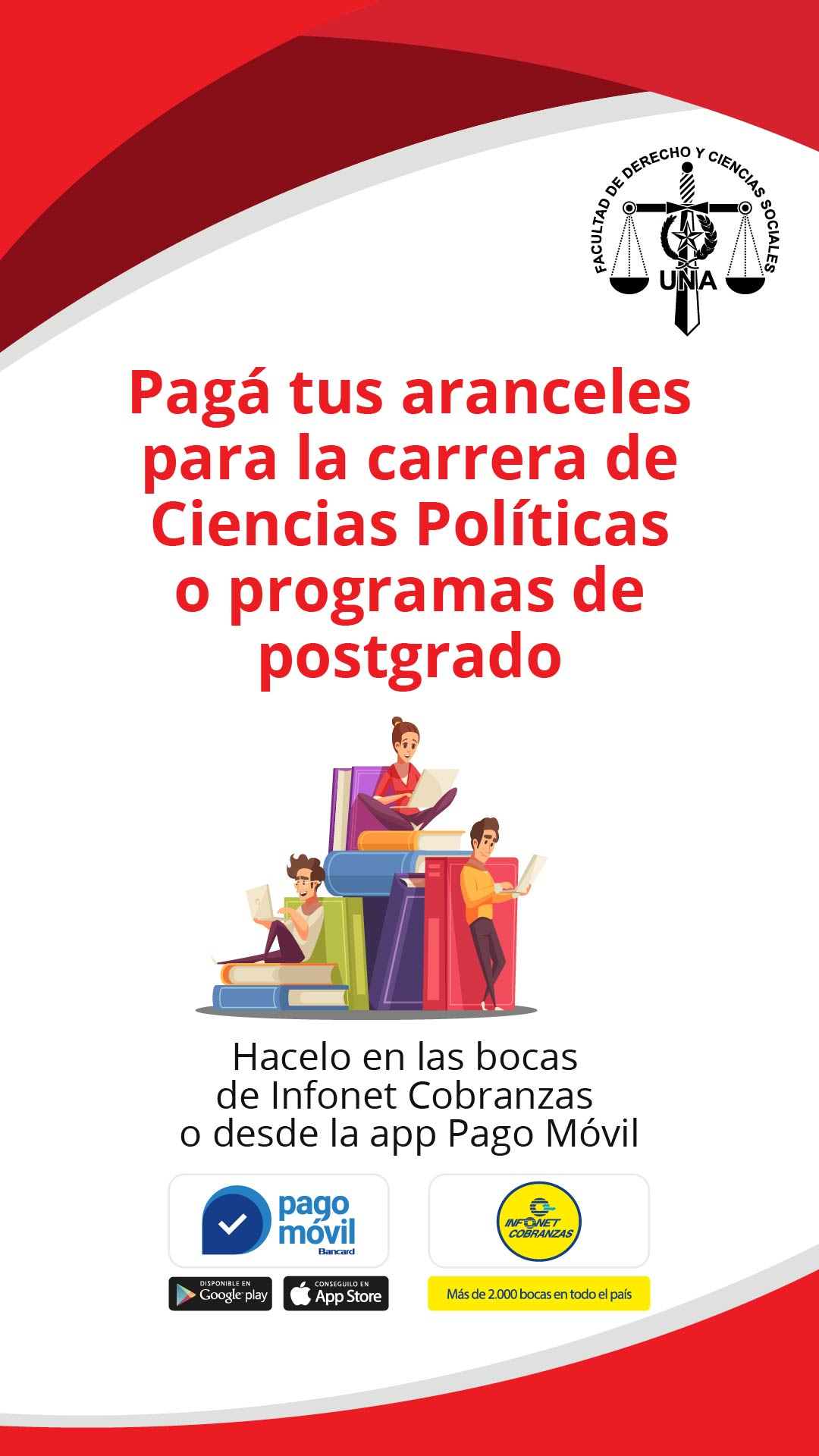 Díptico instructivo para pagos vía Bancard, pag. 1